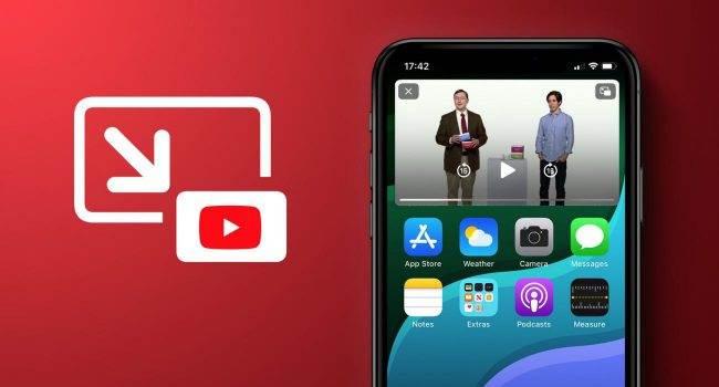 Oficjalnie: Google uruchamia PiP w aplikacji YouTube na iOS polecane, ciekawostki Youtube, pip, Obraz w obrazie, Apple  Największy na świecie serwis wideo YouTube ogłosił, że dodaje obsługę funkcji obrazu w obrazie do swojej aplikacji na iPhone. PiP YT 1 650x350