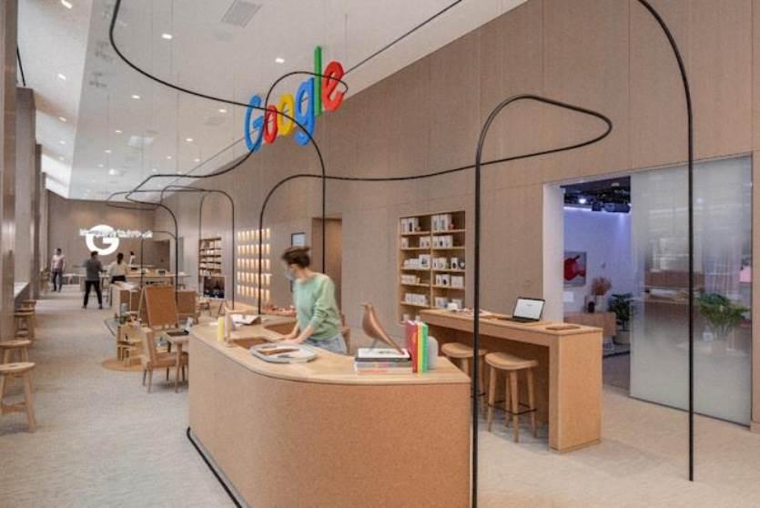Google Store, czyli pierwszy stacjonarny sklep Google, który wygląda jak?.. polecane, ciekawostki nowy jork, Google Store, Google  Dziś, 17 czerwca firma Google otworzy swój pierwszy stacjonarny sklep w Nowym Jorku. W sieci pojawiły się zdjęcia zdradzające wygląd nowego salonu. Co Wam to przypomina? S6