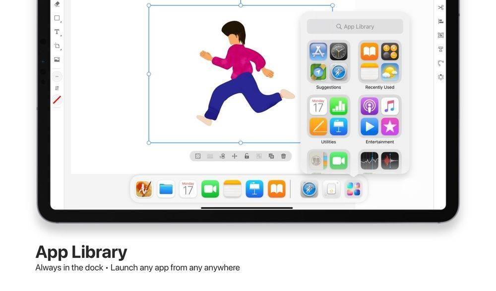 Ciekawy koncept iPadOS 15 polecane, ciekawostki Wizja, koncept, iPadOS 15, iPad  Prezentacja iOS 15 i iPadOS 15 już dziś wieczorem, a w sieci cały czas pojawiają się koncepty pokazujące jak mogłyby wyglądać najnowsze systemy mobilne Apple. bib