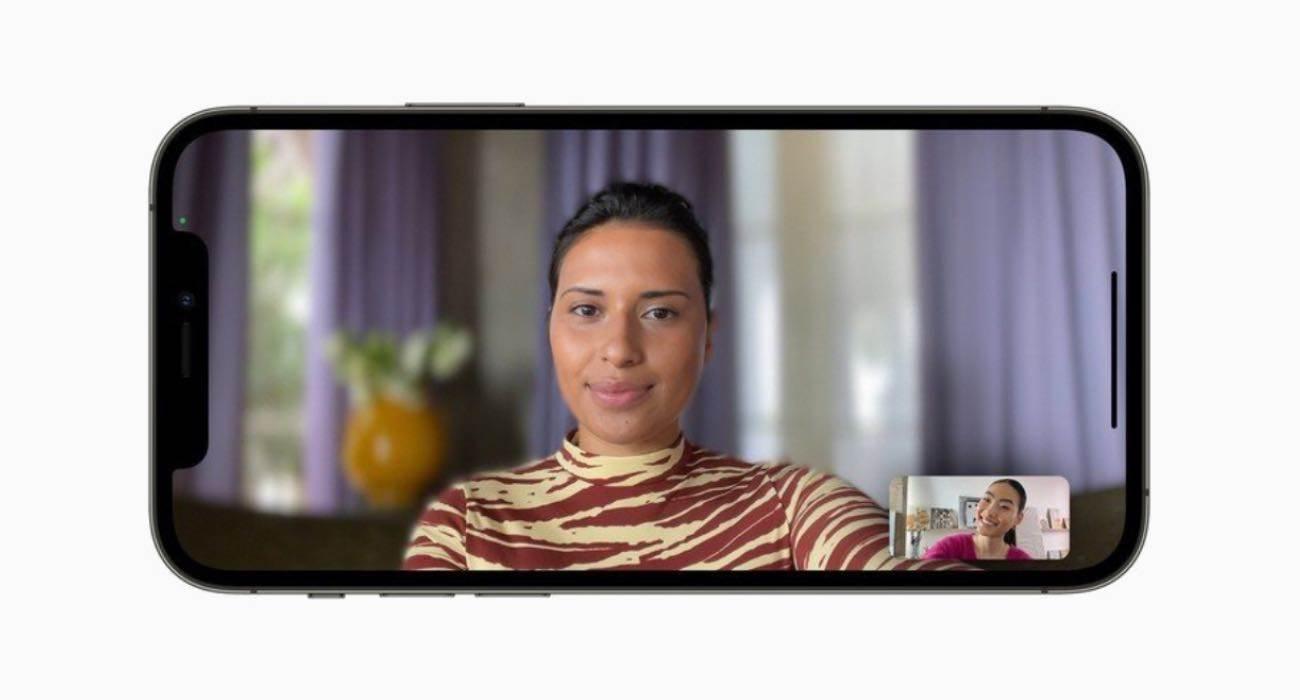 iOS 15, jak włączyć tryb portretowy w FaceTime polecane, ciekawostki tryb portretowy, rozmycie tła, iPhone, iOS 15, FaceTime  W FaceTime w iOS 15 pojawiło się sporo nowych funkcji. Jedną z nich jest funkcja Portret. Jak zatem włączyć tryb portretowy? iOS15 FaceTime