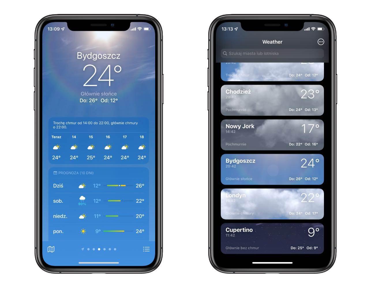 Jak zmieniła się systemowa aplikacja Pogoda w iOS 15 polecane, ciekawostki pogoda, iPadOS 15, iOS 15, aplikacja Pgoda  Na otwarciu WWDC więcej uwagi poświęcono aplikacji Pogoda niż np. tvOS. Jedna z systemowych aplikacji iOS przez całą minutę była w centrum uwagi wielomilionowej publiczności. iOS15 pogoda 1