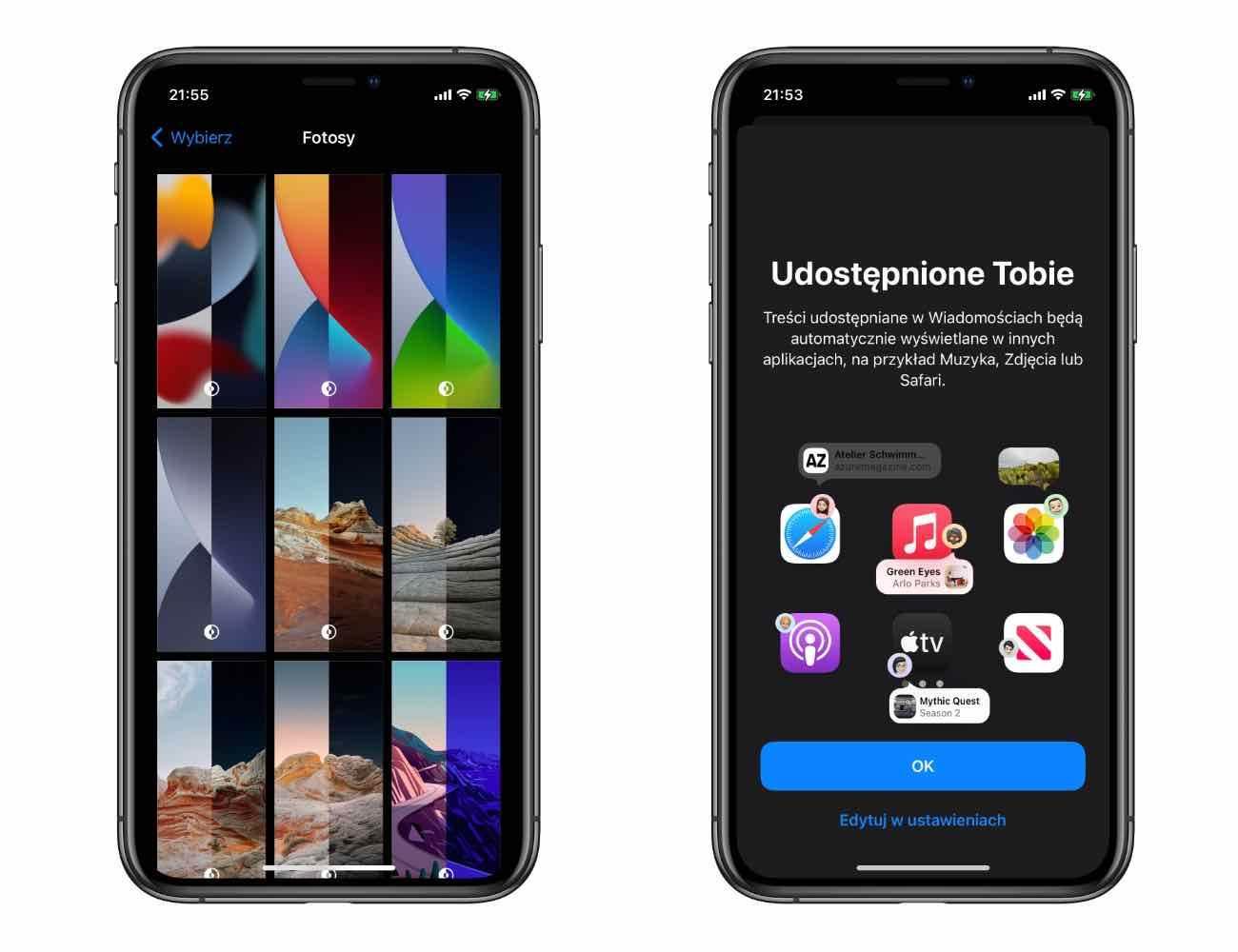 iOS 15 - polskie screeny polecane, ciekawostki zrzuty ekranu, screeny, polskie screeny z iOS 15, jak wygląda iOS 15, iOS 15 screeny, iOS 14 screeny, iOS, Apple  Pierwsza beta iOS 15 jest już w naszych rękach, więc przygotowaliśmy dla Was polskie screeny z najnowszej wersji iOS. iOS15beta1 3