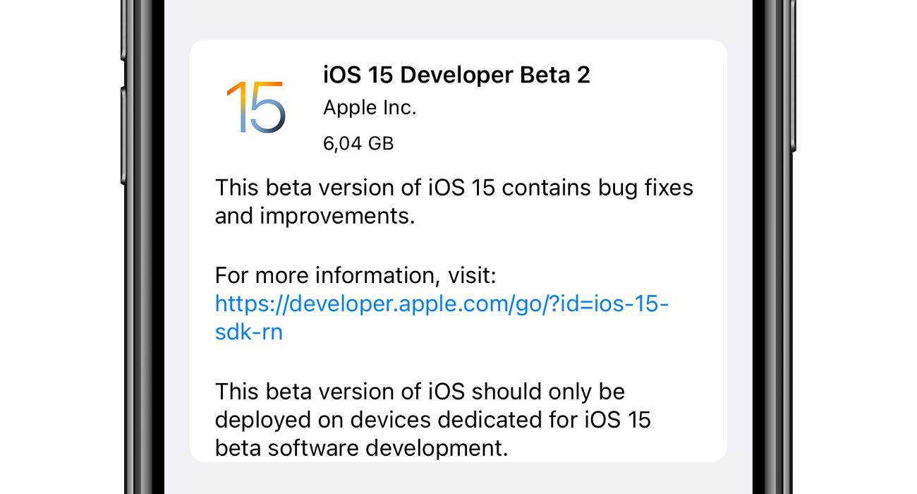 Apple wypuszcza poprawioną wersję iOS 15 beta 2 polecane, ciekawostki zmiany, Update, nowości w iOS 15 beta 2, Nowości, lista zmian, co nowego w iOS 15 beta 2, co nowego, Apple, Aktualizacja  Dość niespodziewanie, Apple udostępniło w tym momencie deweloperom poprawioną iOS 15 beta 2. Co zostało zmienione? Wszystkiego dowiecie się poniżej. iOS15beta2 1