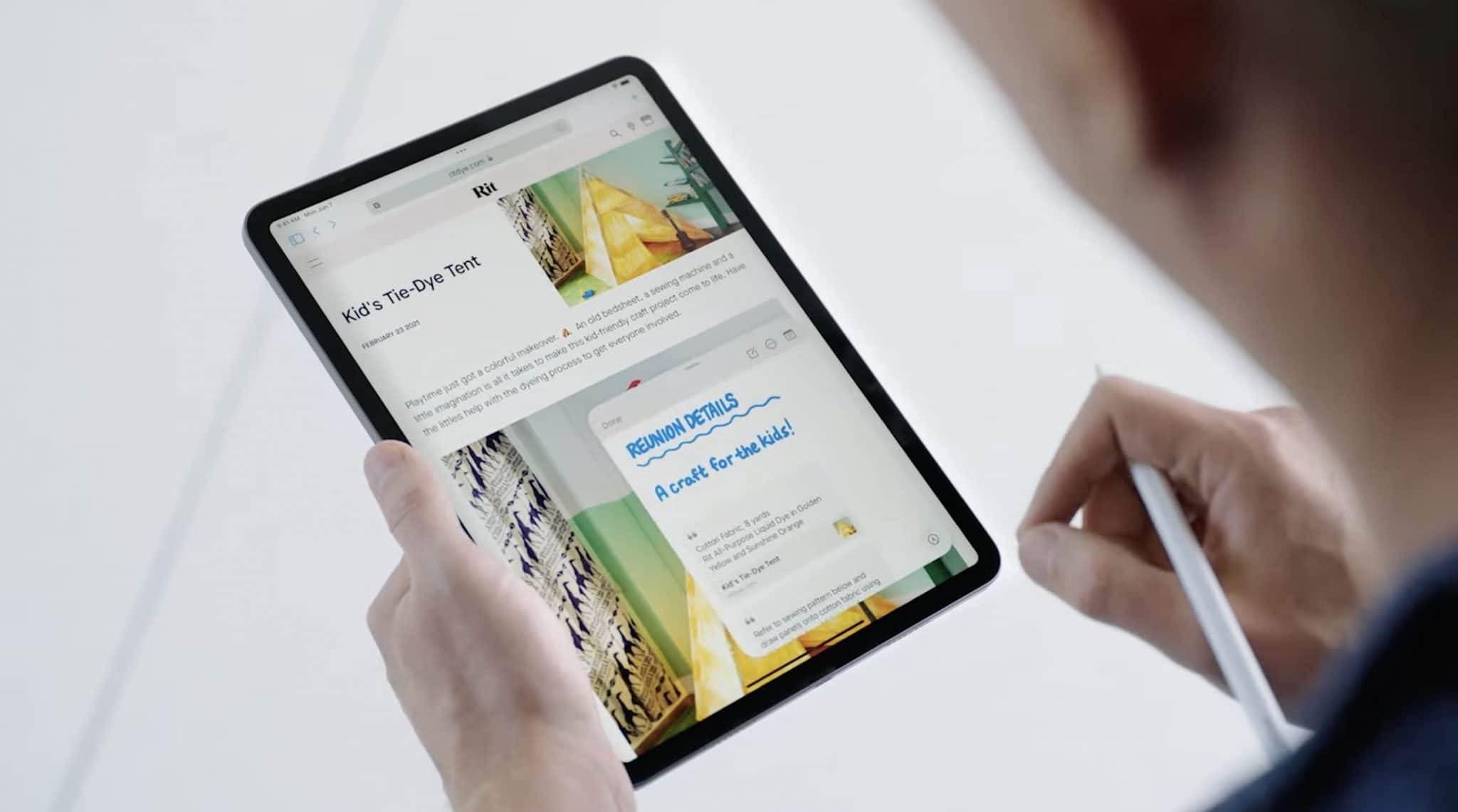 iPadOS 15 oficjalnie zaprezentowany. Przegląd nowości polecane, ciekawostki zmiany, Nowości, iPadOS 15 oficjalnie, iPadOS 15, co nowego w ipadOS 15  Dziś oprócz iOS 15, Apple zaprezentowało światu także iPadOS 15. W tym wpisie znajdziecie listę najważniejszych zmian i nowości jakie pojawiły się w najnowszej wersji iPadOS. iPadOS15 4