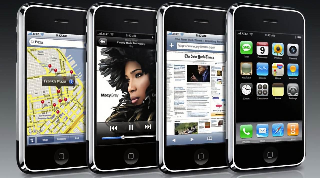 Dziś mija 14 lat od rozpoczęcia sprzedaży pierwszego iPhone ciekawostki iPhone 2G, 14 lat iPhone  Dokładnie 29 czerwca 2007 roku Apple wypuściło swojego pierwszego iPhone'a, który nie da się ukryć zrewolucjonizował branżę smartfonów. iPhone2G 1