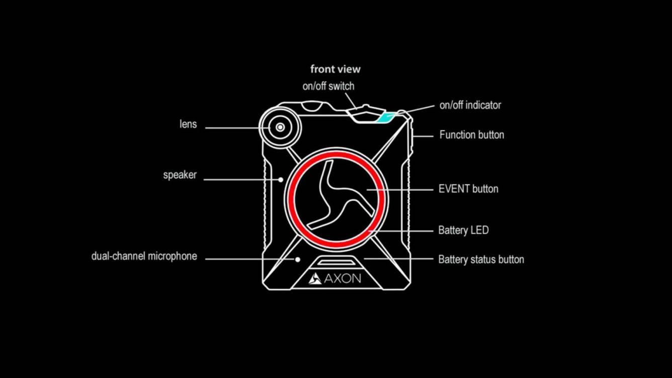 Apple prosi pracowników o noszenie kamer, aby uniknąć przecieków polecane, ciekawostki kamery na ciele, kamera na klatce piersiowej, Apple  Apple zmusza niektórych swoich pracowników do noszenia kamery na klatce piersiowej, podobnej do policyjnej kamery samochodowej Axon Body 2, aby uniknąć przecieków na temat przyszłych gadżetów. kamera 1
