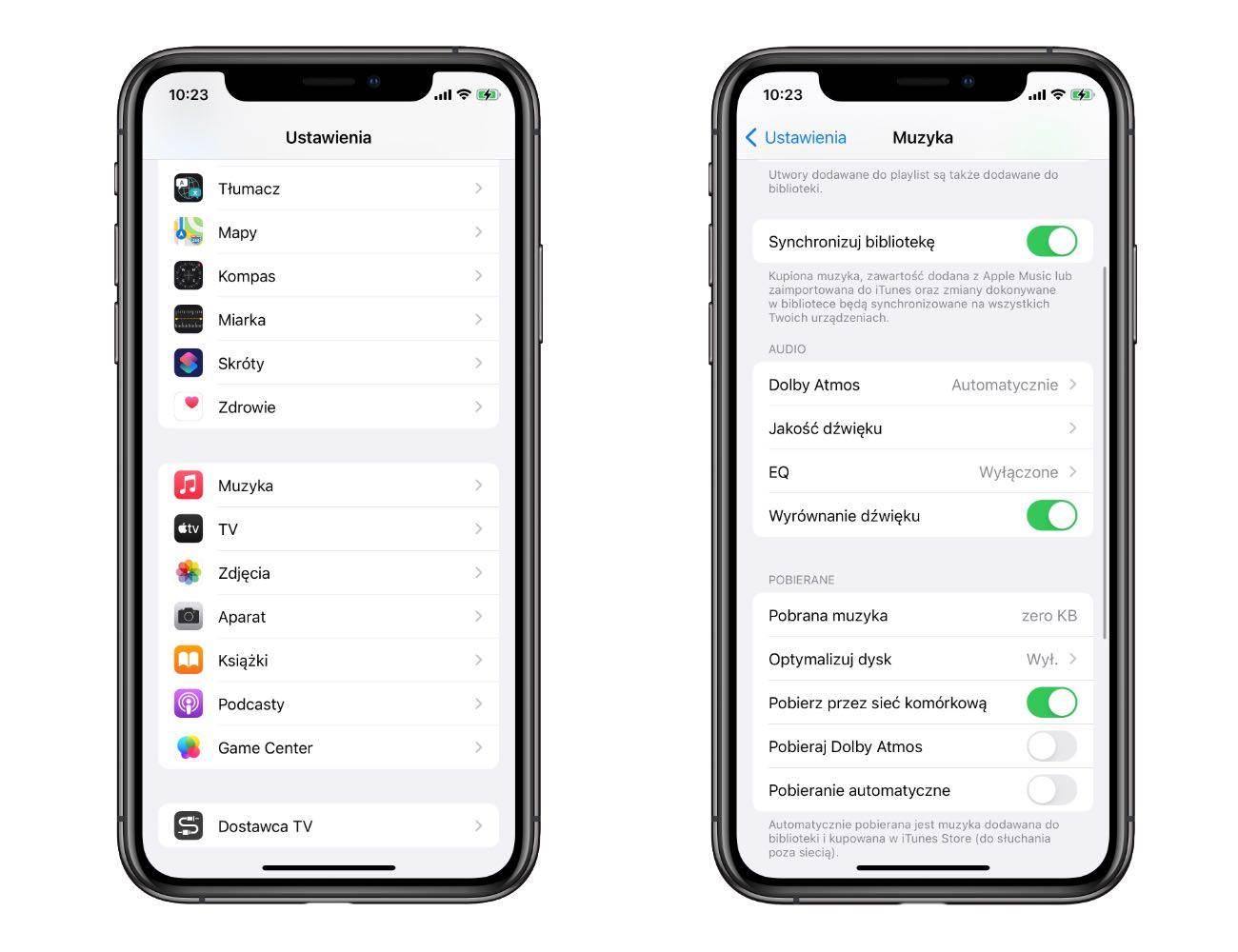 Dźwięk Lossless i Dolby Atmos oficjalnie dostępny w Apple Music. Jak włączyć funkcję? polecane, ciekawostki lossless, jak właczyć dżwięk przestrzenny, jak włączyć dźwięk lossless w Apple Music, bezstratna jakość dzwięku, Apple music  Firma Apple oficjalnie uruchomiła obsługę dźwięku przestrzennego i dźwięku bezstratnego w Apple Music. Zobacz jak uruchomić nowość na Twoim iPhone i iPad. losses 1