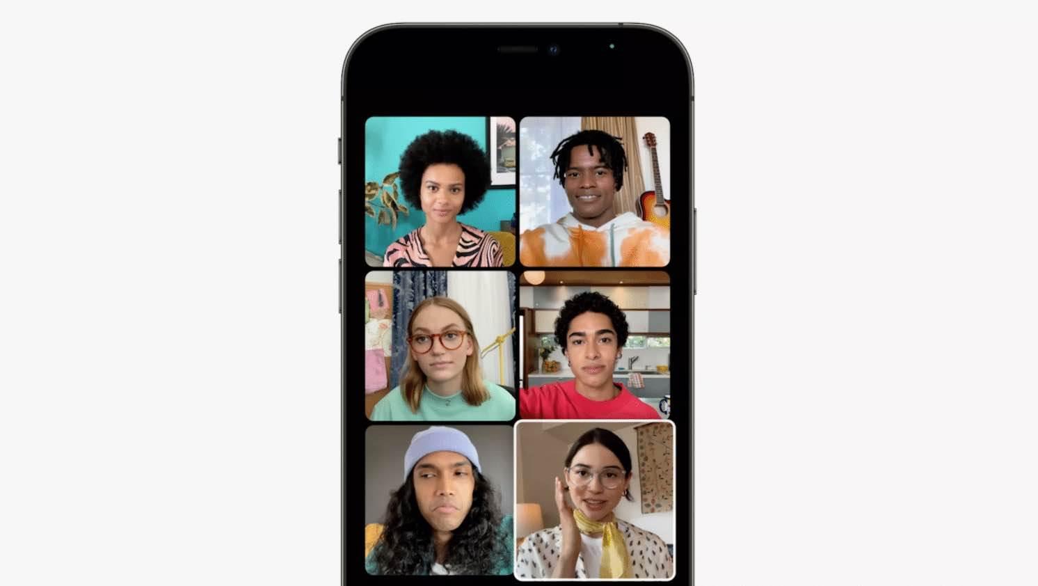 Wszystkie nowe funkcje FaceTime w systemie iOS 15 podcast, ciekawostki nowości w FaceTime, iOS 15, FaceTime, co nowego w FaceTime  Apple wprowadziło kilka poważnych ulepszeń do FaceTime w iOS 15. Nie powinno to dziwić, biorąc pod uwagę wzrost popularności usług połączeń wideo w ciągu ostatniego roku lub dwóch z powodu pandemii. Poniżej przedstawiamy wszystkie nowe funkcje, które pojawią się w FaceTime w iOS 15 na iPhone, iPad i Mac. siatka