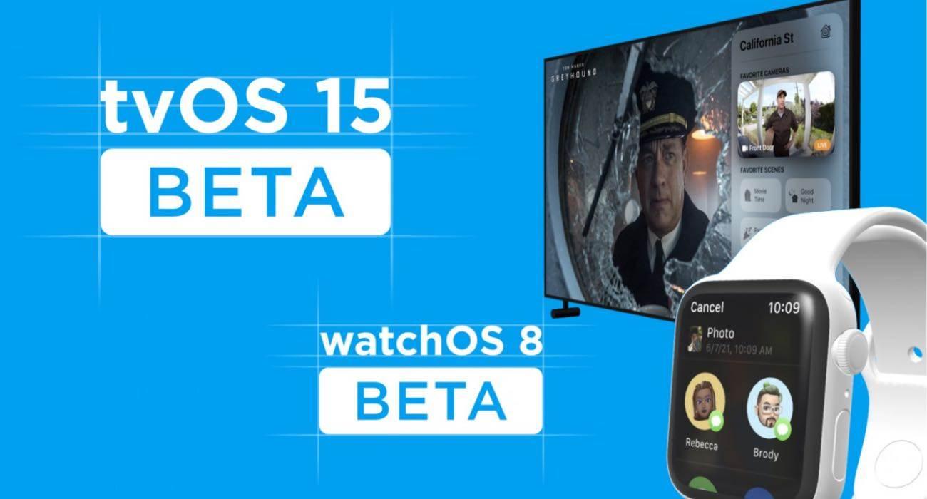 watchOS 8 i tvOS 15 beta 3 udostępnione deweloperom polecane, ciekawostki watchOS 8 beta 3, tvOS 15 beta 3, Nowości, lista zmian  Dziś wraz z nowymi wersjami beta iOS 15 i iPadOS 15 firma Apple udostępniła deweloperom także trzecie testowe wersje systemów watchOS 8 i tvOS 15. tvOS15