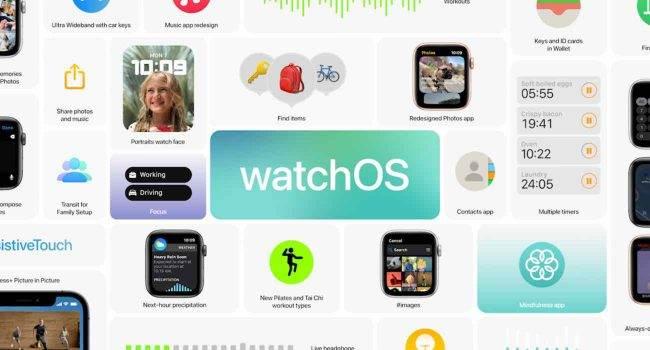 watchOS 8 oficjalnie zaprezentowany. Przegląd wszystkich nowości polecane, ciekawostki zmiany w watchOS 8, watchOS 8 oficjalnie, watchOS 8, nowości w watchOS 8, co nowego w watchOS 8, Apple Watch, Apple  Kilkanaście minut temu, Apple zaprezentowało watchOS 8, czyli przyszły system operacyjny dedykowany dla Apple Watch. Oto wszystkie nowości jakie pojawiły się w systemie dla iZegarków. watchOS8 1 650x350
