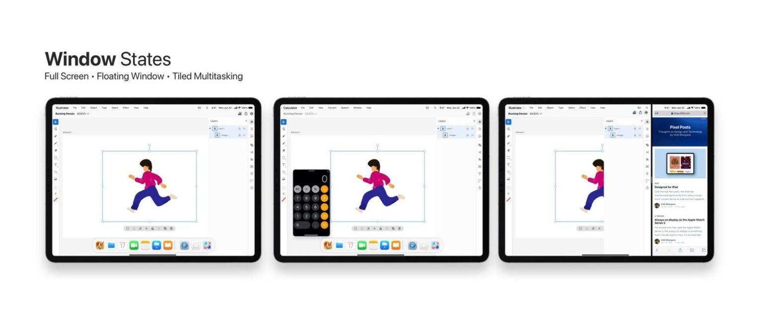 Ciekawy koncept iPadOS 15 polecane, ciekawostki Wizja, koncept, iPadOS 15, iPad  Prezentacja iOS 15 i iPadOS 15 już dziś wieczorem, a w sieci cały czas pojawiają się koncepty pokazujące jak mogłyby wyglądać najnowsze systemy mobilne Apple. wielozad