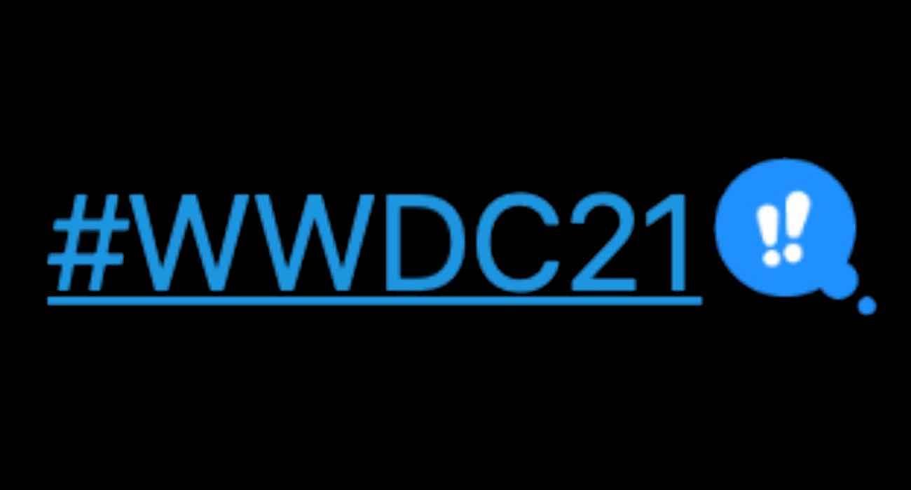 Apple zmienia wygląd hashtagu WWDC21 na Twitterze polecane, ciekawostki WWDC 2021, Twitter, hashtag, Apple  Dzień przed oficjalną prezentacją iOS 15, iPadOS 15, Apple zmieniło nieco wygląd hashtagu #WWDC21 na Twitterze. Jak Wam się podoba? wwdc21