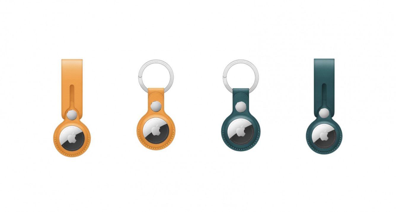 Apple wprowadza do swojej oferty nowe kolory akcesoriów dla AirTag polecane, ciekawostki skórzany brelok, skórzana opaska, opaska, AirTag  W dniu wczorajszym firma Apple wprowadziła do swojej oferty akcesoria do AirTag w dwóch nowych kolorach. Jak Wam się podobają? AirTag 1 1