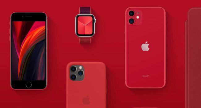 Apple będzie dalej przekazywać zyski ze sprzedaży gadżetów (PRODUCT) RED na walkę z koronawirusem ciekawostki Product Red, koronawirus, Apple  Firma Apple ogłosiła w zeszłym roku, że do czerwca 2021 roku przekaże 100% swoich zysków z gadżetów i akcesoriów (PRODUCT) RED do Global Fund to Fight COVID-19.  ProductRED 650x350
