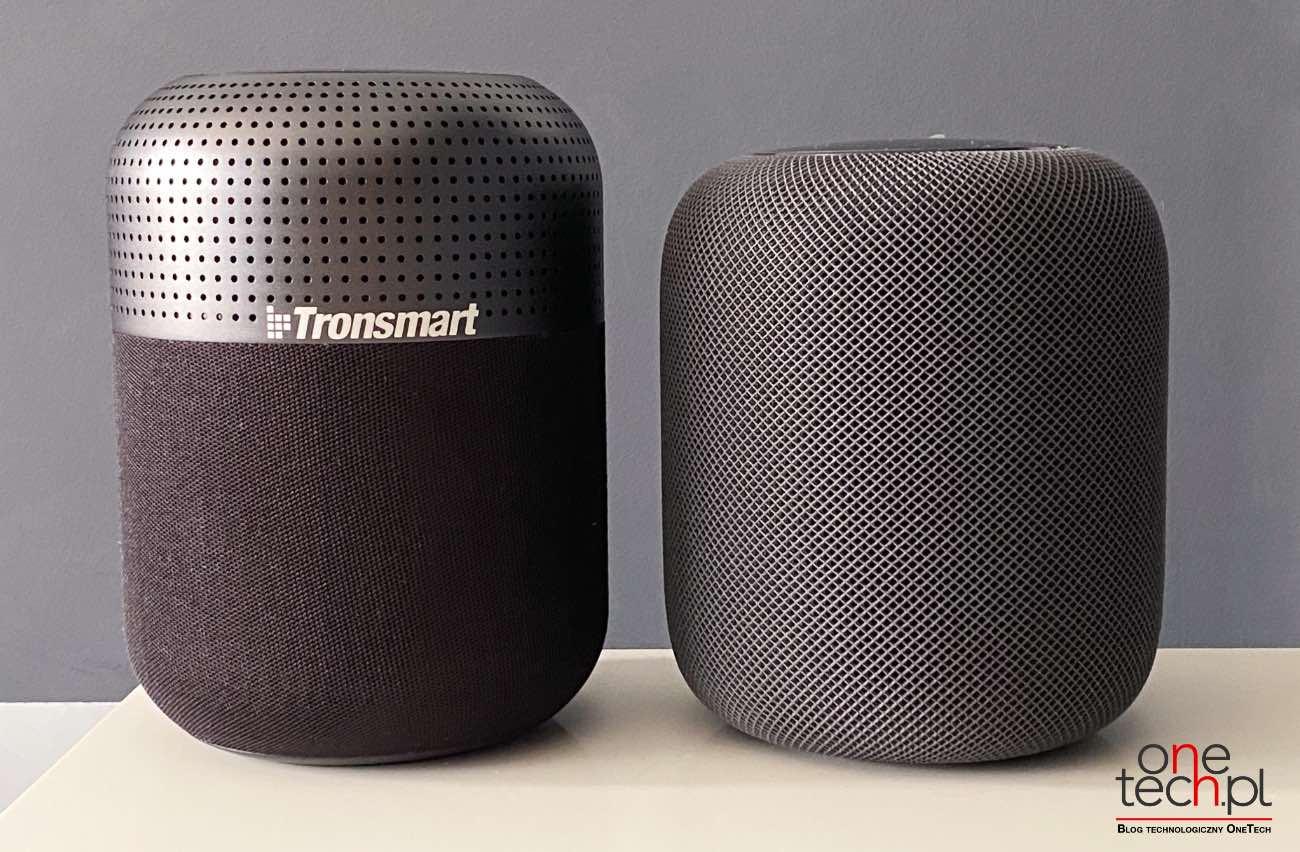 Duża moc, przestrzenny dźwięk 360°, wygląd podobny do HomePod - poznajcie Tronsmart T6 Max recenzje, polecane, ciekawostki Tronsmart T6 Max, Tronsmart, Recenzja, głośnik  T6 Max to najnowszy głośnik Bluetooth w chińskim portfolio firmy Tronsmart, będący obecnie najmocniejszym głośnikiem produkowanym przez firmę. Od kilku tygodni jesteśmy w posiadaniu urządzenia, więc przyszedł czas, aby napisać Wam kilka zdań na jego temat. Transmart 7
