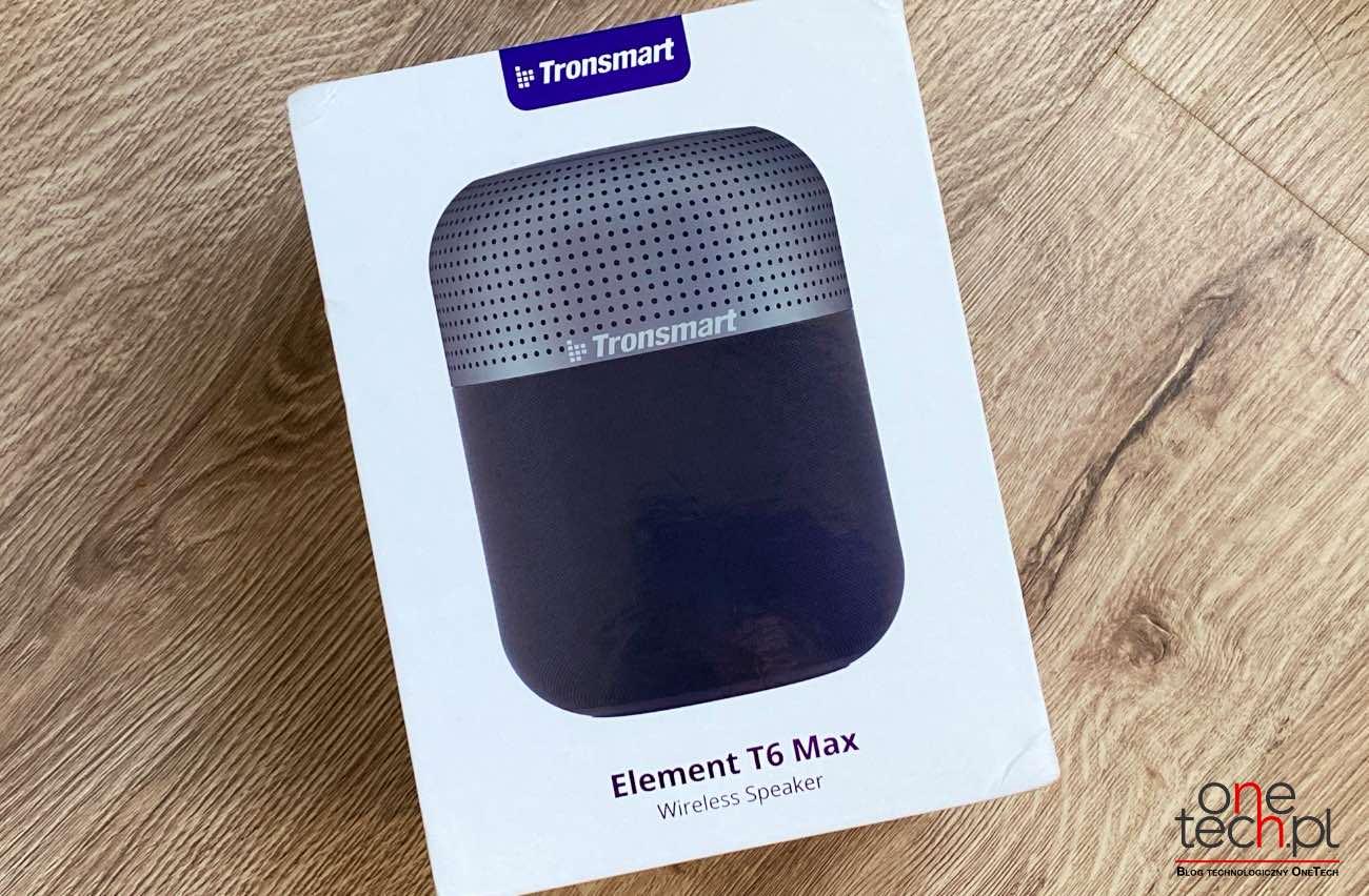 Duża moc, przestrzenny dźwięk 360°, wygląd podobny do HomePod - poznajcie Tronsmart T6 Max recenzje, polecane, ciekawostki Tronsmart T6 Max, Tronsmart, Recenzja, głośnik  T6 Max to najnowszy głośnik Bluetooth w chińskim portfolio firmy Tronsmart, będący obecnie najmocniejszym głośnikiem produkowanym przez firmę. Od kilku tygodni jesteśmy w posiadaniu urządzenia, więc przyszedł czas, aby napisać Wam kilka zdań na jego temat. Transmart 8
