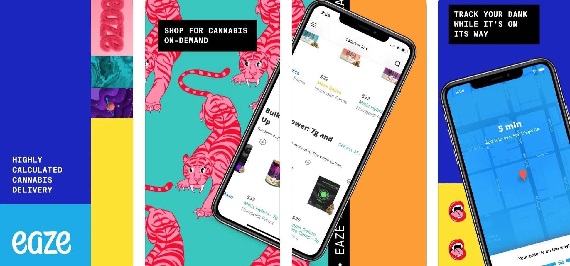W App Store pojawiła się pierwsza aplikacja, oferująca dostawę marihuany polecane, ciekawostki zakup, marihuana, App Store, Aplikacja  Do App Store trafia pierwsza aplikacja oferująca zakup i dostawę marihuany, bezpośrednią do naszego domu. Co to za apka? eaze