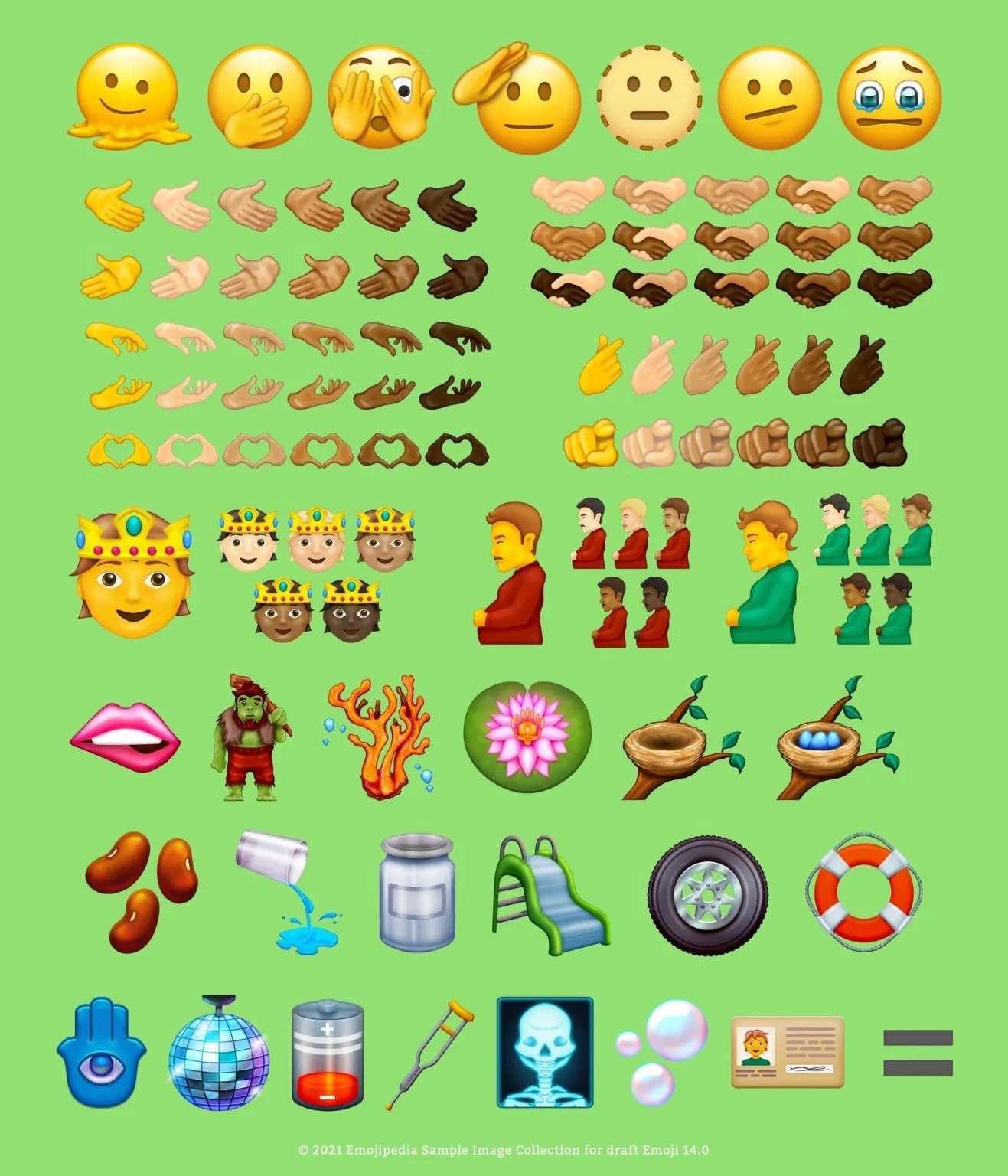 Ponad 100 nowych emoji trafi do iOS 15 i macOS Monetery polecane, ciekawostki nowe emoji, macOS 12 Monterey, iPadOS 15, iOS 15, emoji  Emojipedia udostępniła obrazy nadchodzących emoji, które pojawią się w iOS 15, iPadOS 15 i macOS Monterey. Oto one! emoji iOS15