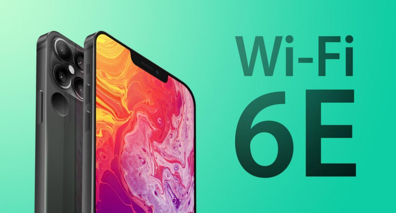 iPhone 13 / 13 Pro z Wi-Fi 6E polecane, ciekawostki Wi-Fi 6e, iPhone 13 Pro, iPhone 13  Tajwańska publikacja branżowa DigiTimes donosi, że nadchodzące smartfony z serii iPhone 13 otrzymają obsługę protokołu Wi-Fi 6E, który oferuje dostęp do ulepszonej wersji infrastruktury Wi-Fi 6 obejmującej pasmo 6 GHz. iPHone13 wifi6E