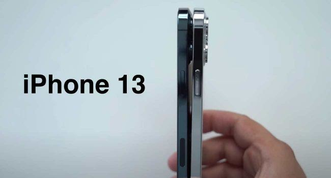 Atrapy iPhone 13 / 13 Pro pokazane w nowym filmie polecane, ciekawostki Wideo, iPhone 13 Pro, iPhone 13, Apple  Wiele atrap iPhone 13 pojawiło się w ciągu ostatnich kilku tygodni. Pierwsze zostały ujawnione przez Sonny'ego Dicksona, który dał nam pierwsze spojrzenie na większy moduł kamery. iPhone13 20 650x350