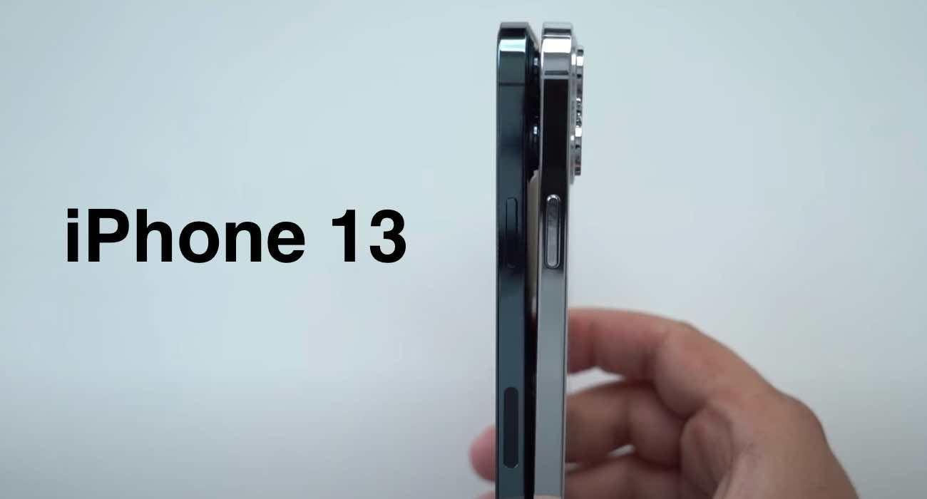 Atrapy iPhone 13 / 13 Pro pokazane w nowym filmie polecane, ciekawostki Wideo, iPhone 13 Pro, iPhone 13, Apple  Wiele atrap iPhone 13 pojawiło się w ciągu ostatnich kilku tygodni. Pierwsze zostały ujawnione przez Sonny'ego Dicksona, który dał nam pierwsze spojrzenie na większy moduł kamery. iPhone13 20