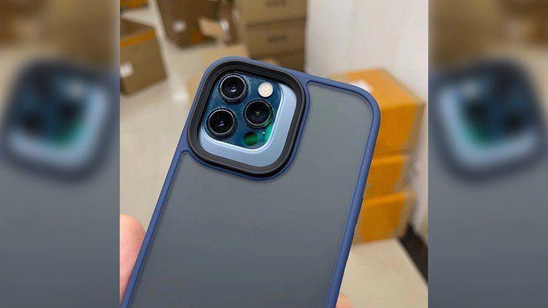Etui do iPhone 13 Pro Max pokazuje zwiększony blok aparatu polecane, ciekawostki iPhone 13 Pro max, etui, Apple  Chiński informator Uncle Pan zamieścił w sieci pierwsze zdjęcia na którym widzimy etui do iPhone 13 Pro Max. iphone 13 pro max case camera module