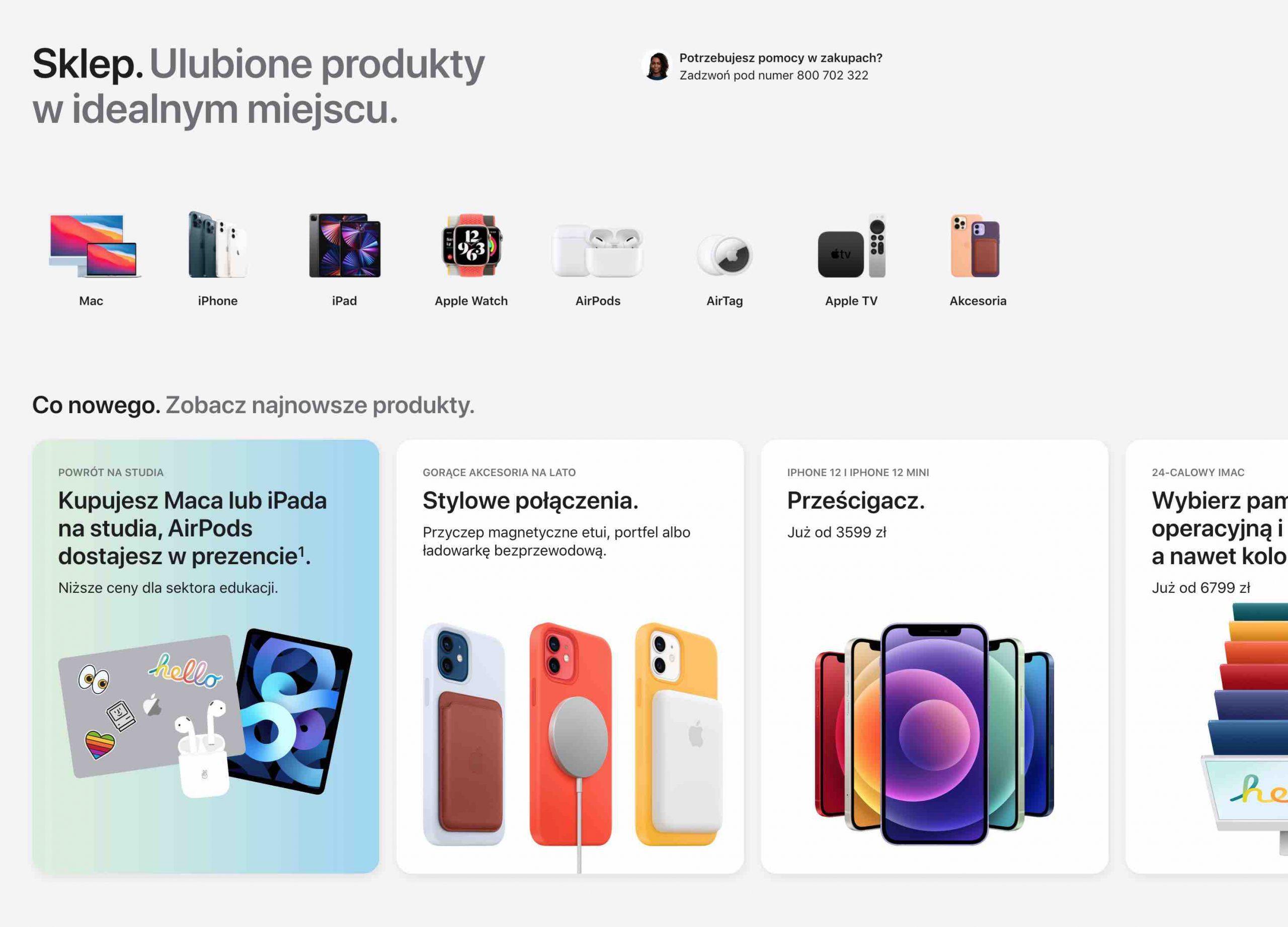 Sklep internetowy Apple ma nowy wygląd polecane, ciekawostki   Dziś w nocy firma Apple zaktualizowała projekt swojego sklepu internetowego Apple Store Online. Jak Wam się podoba? AP 3 scaled