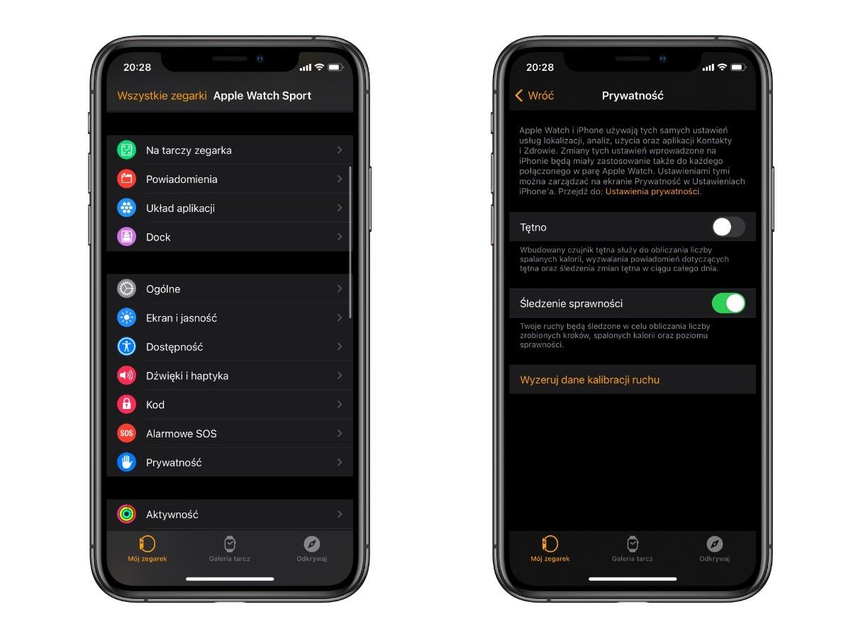 Jak skalibrować wszystkie czujniki w Apple Watch poradniki, ciekawostki kalibracja jasności, kalibracja, jak skalibrować Apple Watch, Apple Watch  Apple Watch to potężne urządzenie, które zbiera dane o aktywności i ćwiczeniach użytkownika. Jeśli po pewnym okresie zauważysz, że zegarek wskazuje nieprawidłowy pomiar któregokolwiek ze wskaźników, być może nadszedł czas na ponowną kalibrację. AppleWatch kalibracja
