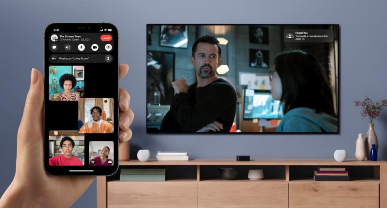 Spotify otrzyma obsługę funkcji SharePlay? ciekawostki Spotify, shareplay, iOS 15  Spotify rozpoczęło prace nad integracją obsługi nowej funkcji SharePlay firmy Apple ze swoją aplikacją mobilną na iPhone i iPad. SharePay