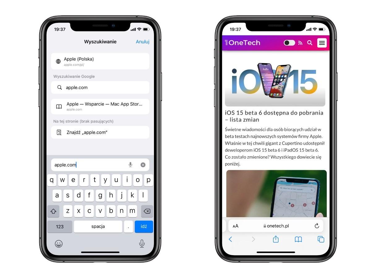 Co nowego w systemie iOS 15 beta 6 ciekawostki zmiany, wszystkie nowości w iOS 15 beta 6, Wideo, nowosci w iPadOS 15 beta 6, nowosci iOS 15 beta 6 na filmie, Nowości, lista zmian w iOS 15 beta 6, co nowego w iOS 15 beta 6, co nowego  W dniu wczorajszym firma Apple udostępniła deweloperom iOS 15 beta 6 i iPadOS 15 beta 6. Czas więc na przegląd zmian i nowości jakie pojawiły się w tychże wersjach systemu. iOS15beta6 safari