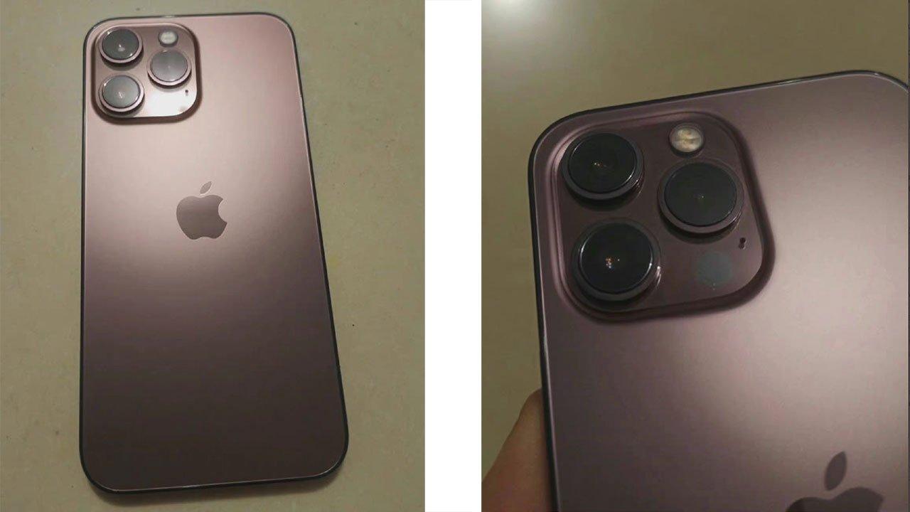 iPhone 13 Pro Rose Gold pokazany na pierwszych zdjęciach ciekawostki rozowy iphone 13, prezentacja iPhone 13, premiera iphone 13 pro, iPhone 13 rozowy, iPhone 13 rose gold, iphone 13 pro rose gold, iphone 13 pro max rose gold, iPhone 13 Pro max, iPhone 13 Pro, iphone 13 nowy kolor, iPhone 13  Do sieci trafił nowe zdjęcia, które pokazują nam i zdradzają wygląd jednego z tegorocznych smartfonów Apple - poznajcie iPhone 13 Pro w kolorze Rose Gold. iPHone13 pro rose gold