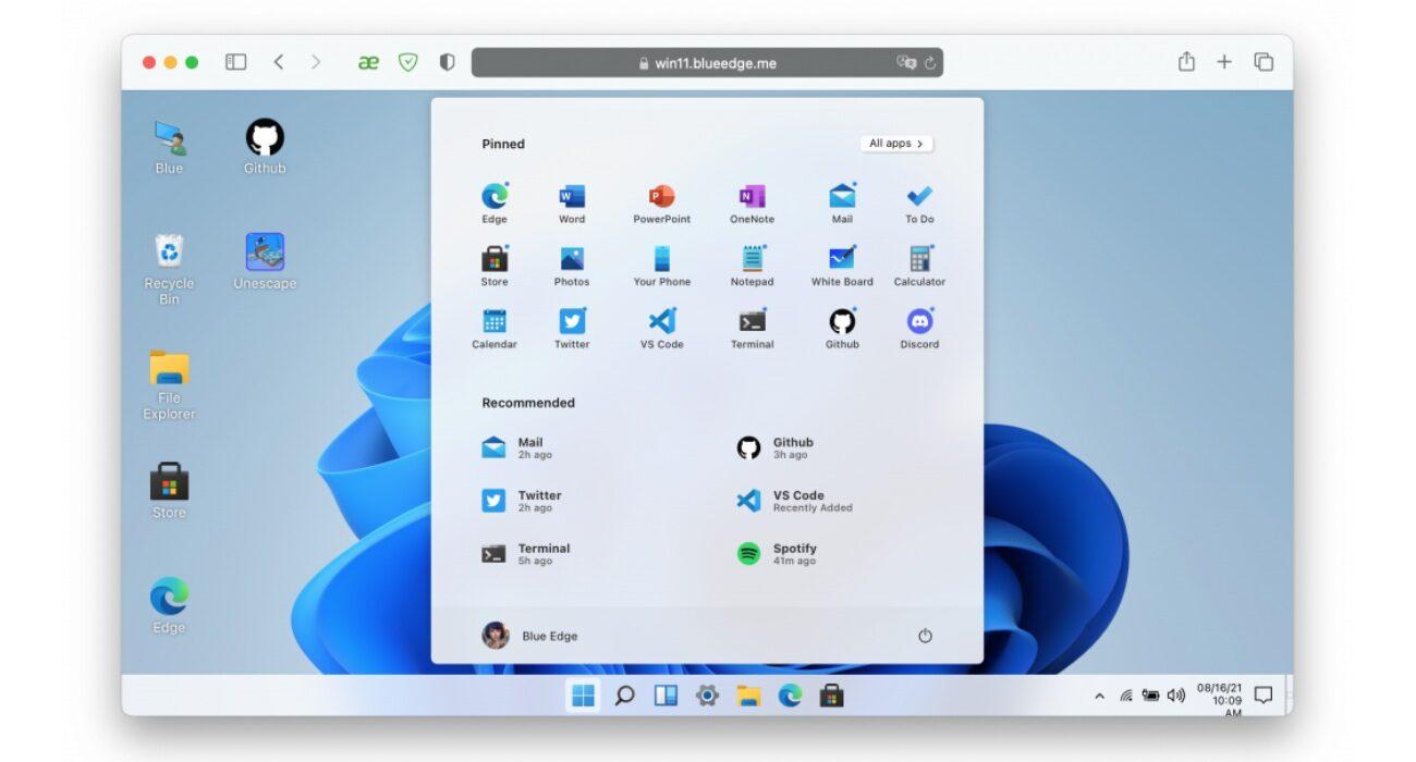 Przetestuj Windows 11 bez instalacji na komputerze! ciekawostki windows 11 w przeglądarce, Windows 11, sprawdz wyglad, jak wygląda Windows, jak przetestować windows 11  Chcesz sprawdzić jak wygląda i jak działa system Windows 11, ale nie chcesz instalować go na swoim komputerze? Jest to możliwe. Jak? Już wyjaśniamy. win11 1 1300x700