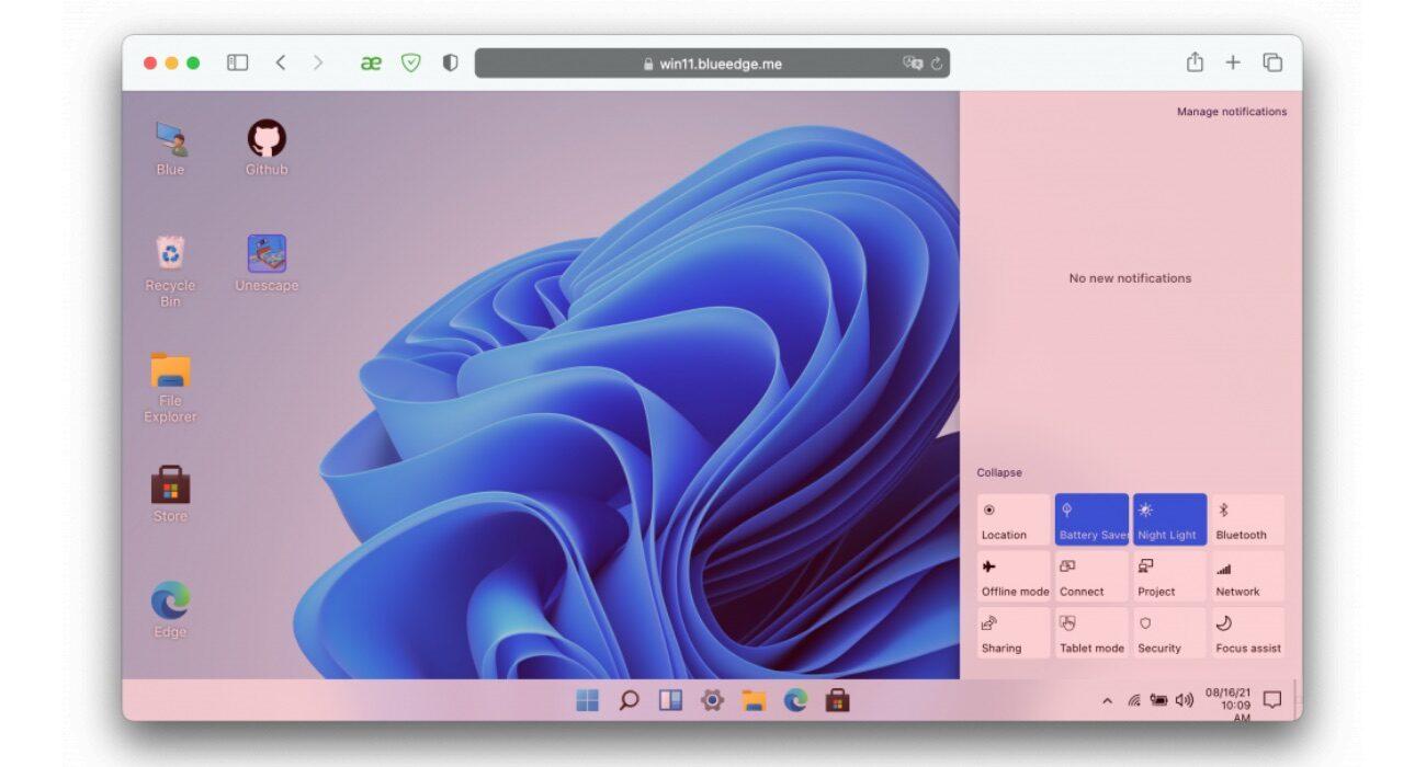 Przetestuj Windows 11 bez instalacji na komputerze! ciekawostki windows 11 w przeglądarce, Windows 11, sprawdz wyglad, jak wygląda Windows, jak przetestować windows 11  Chcesz sprawdzić jak wygląda i jak działa system Windows 11, ale nie chcesz instalować go na swoim komputerze? Jest to możliwe. Jak? Już wyjaśniamy. win11 2 1300x700