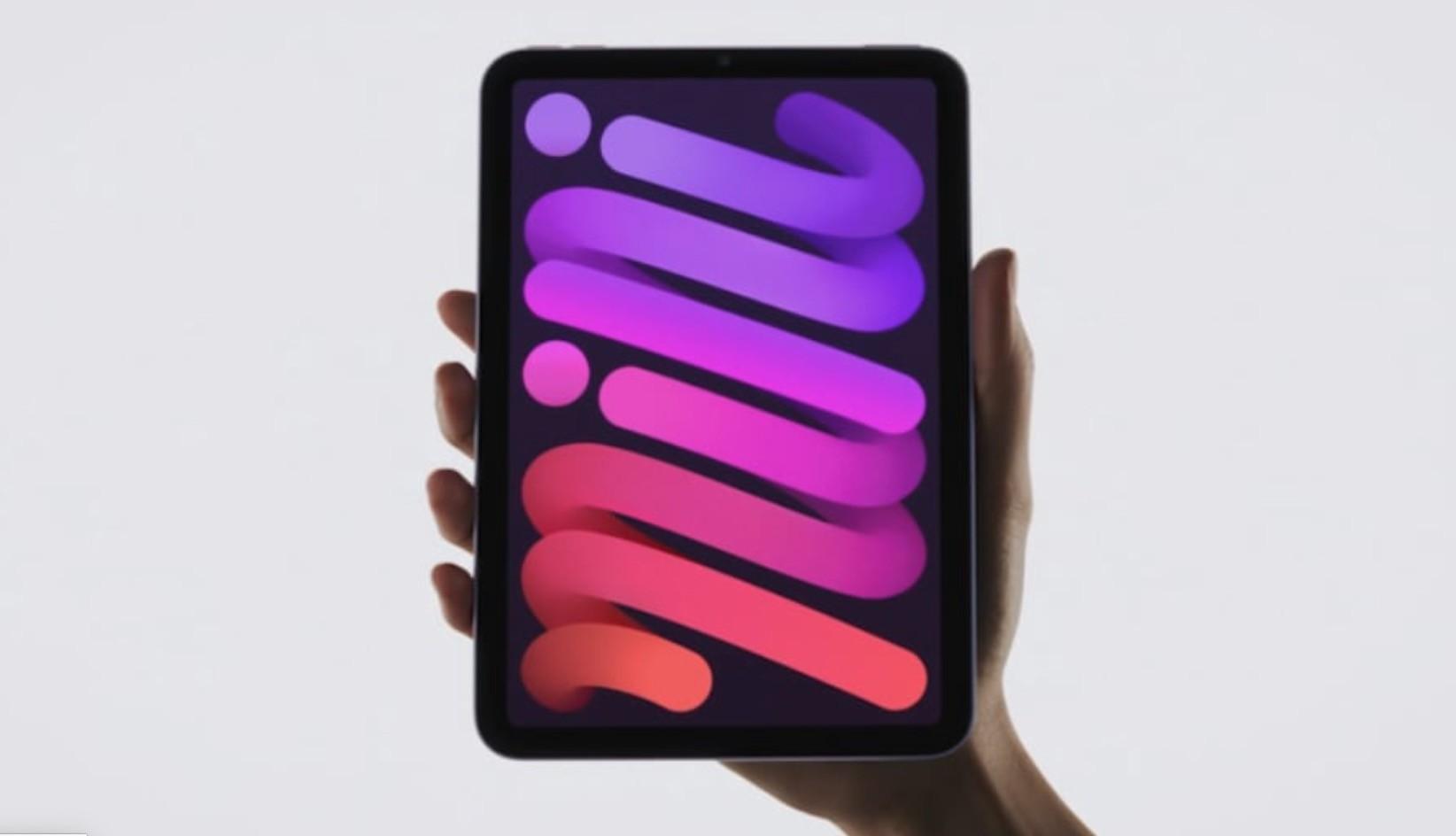 Apple przedstawia nowego iPada mini z oszałamiającym, nowym wyglądem ciekawostki, box ipad mini oficjlanie, iPad mini 2021, iPad mini, bezramkowy ipad mini  Kolejny urządzeniem, który pojawił się na dzisiejszej prezentacji Apple był zupełnie nowy z oszałamiającym, nowym wyglądem iPad mni. Poznajcie go już teraz! 1@2x 5
