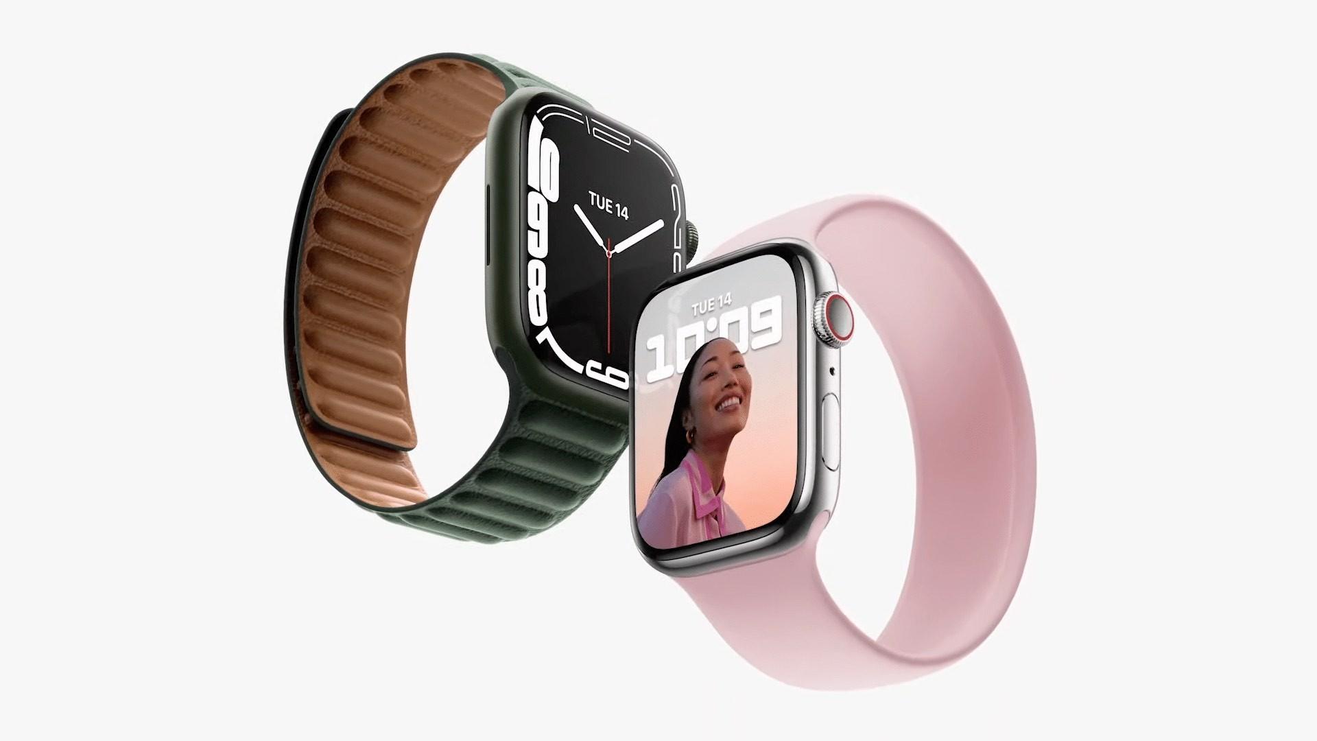 Apple Watch Series 7 z większym ekranem oficjalnie zaprezentowany ciekawostki, box Specyfikacja, cena, Apple Watch Series 7  Dzisiaj, na konferencji California Streaming , Apple zaprezentował nową serię Apple Watch 7. Nowy zegarek ma większy ekran i nowy procesor. Niestety nie ma nowych czujników. AW7 2