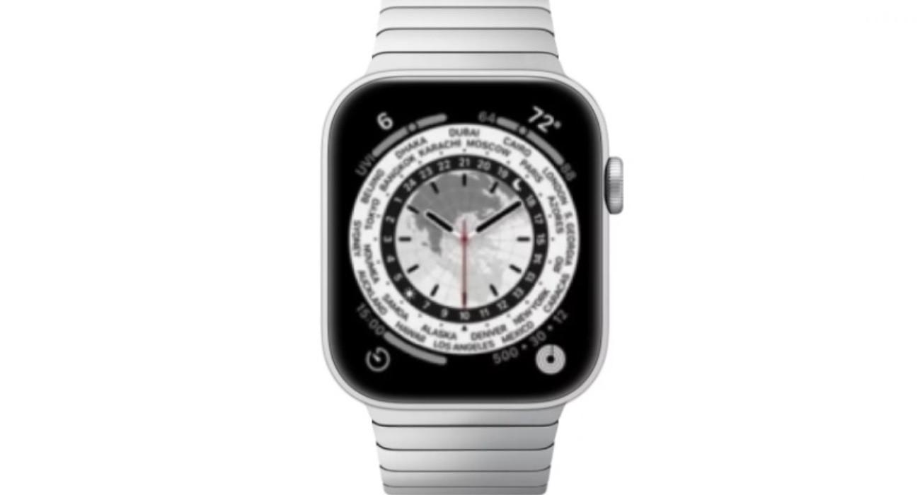 Tak mogą wyglądać nowe tarcze w Apple Watch Series 7 ciekawostki tarcze, nowe tarcze w apple watch series 7, kiedy prezentacja apple watch series 7, ekran apple watch series 7, apple watch series 7 wymiary, apple watch series 7 tarcze, apple watch series 7 rozmiar, apple watch series 7 kiedy premiera, Apple Watch Series 7  Apple opracowuje kilka nowych tarcz, które będą zawierać więcej informacji ze względu na większy rozmiar ekranu przyszłych modeli Apple Watch Series 7, poinformował Bloomberg. AW7 tarcza