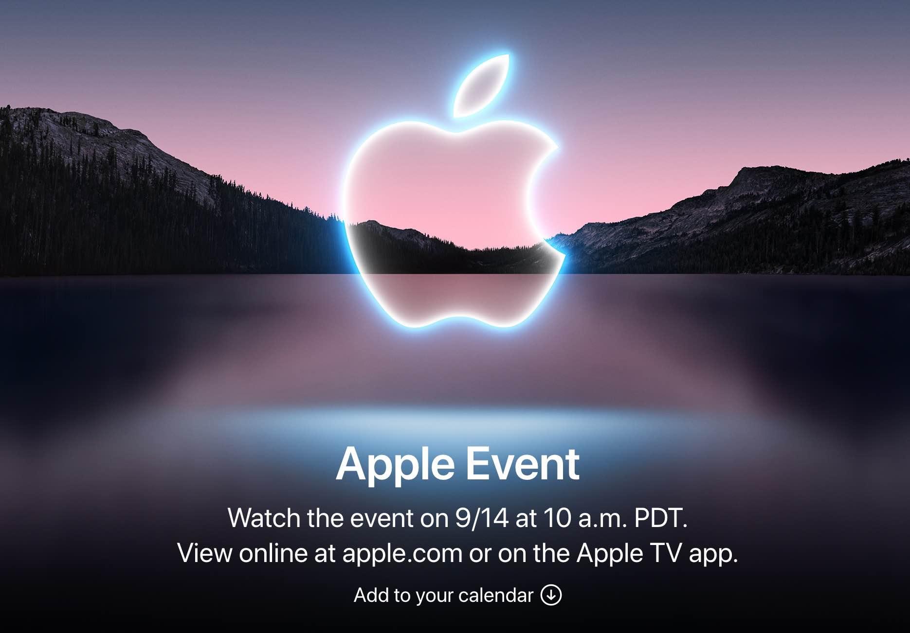 Prezentacja iPhone 13 - gdzie i jak oglądać? polecane, ciekawostki przekaz na żywo, prezentacja na zywo, prezentacja iPhone 13, prezentacja apple watch series 7, prezenatcja iphone 13 na andorid, na żywo, Live, link do prezentacji iphone 13, konferencja Apple, jak ogladac preznetacje iphone 13, iPhone 13 Pro, iphone 13 livestream, gdzie ogladac preznetacje iphone 13, gdzie oglądać, Apple  Już w najbliższy wtorek 14 września po godzinie 19 rozpocznie się na pewno przez wszystkich długo wyczekiwana konferencja Apple, na której zaprezentowane zostaną m.in. nowe iPhone'y 13. EVENT 1 1