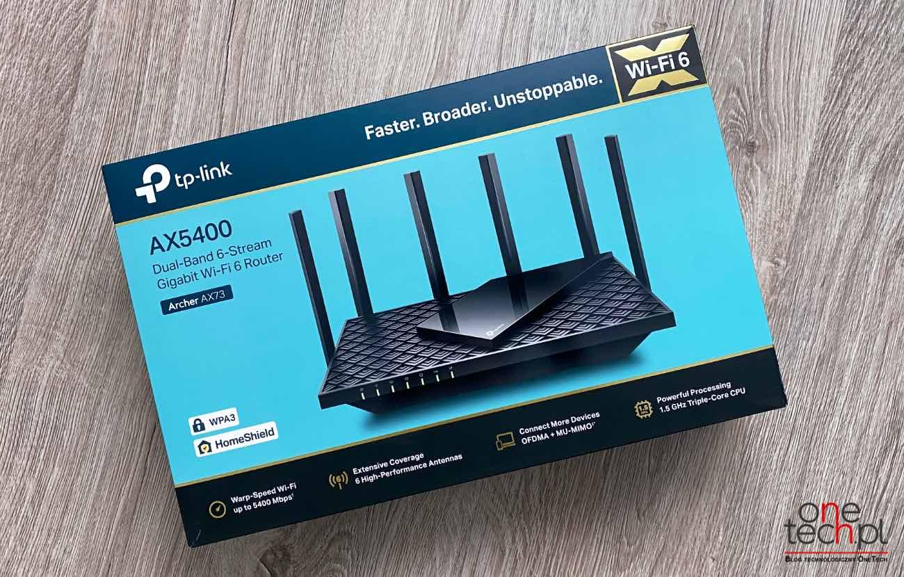 TP-Link Archer AX73 - wysoka wydajność w przystępnej cenie recenzje, ciekawostki WPA3, TP-Link Archer AX73 recenzja, TP-Link Archer AX73, specyfikacja Archer AX73, router z wpa3, router z wi-fi 6, cena Archer AX73, Archer AX73  Archer AX73 to wydajny i dostępny w przystępnej cenie router z Wi-Fi 6. Po kilku tygodniach testów chcielibyśmy napisać Wam kilka słów na temat tego urządzenia. TP link AX73 1