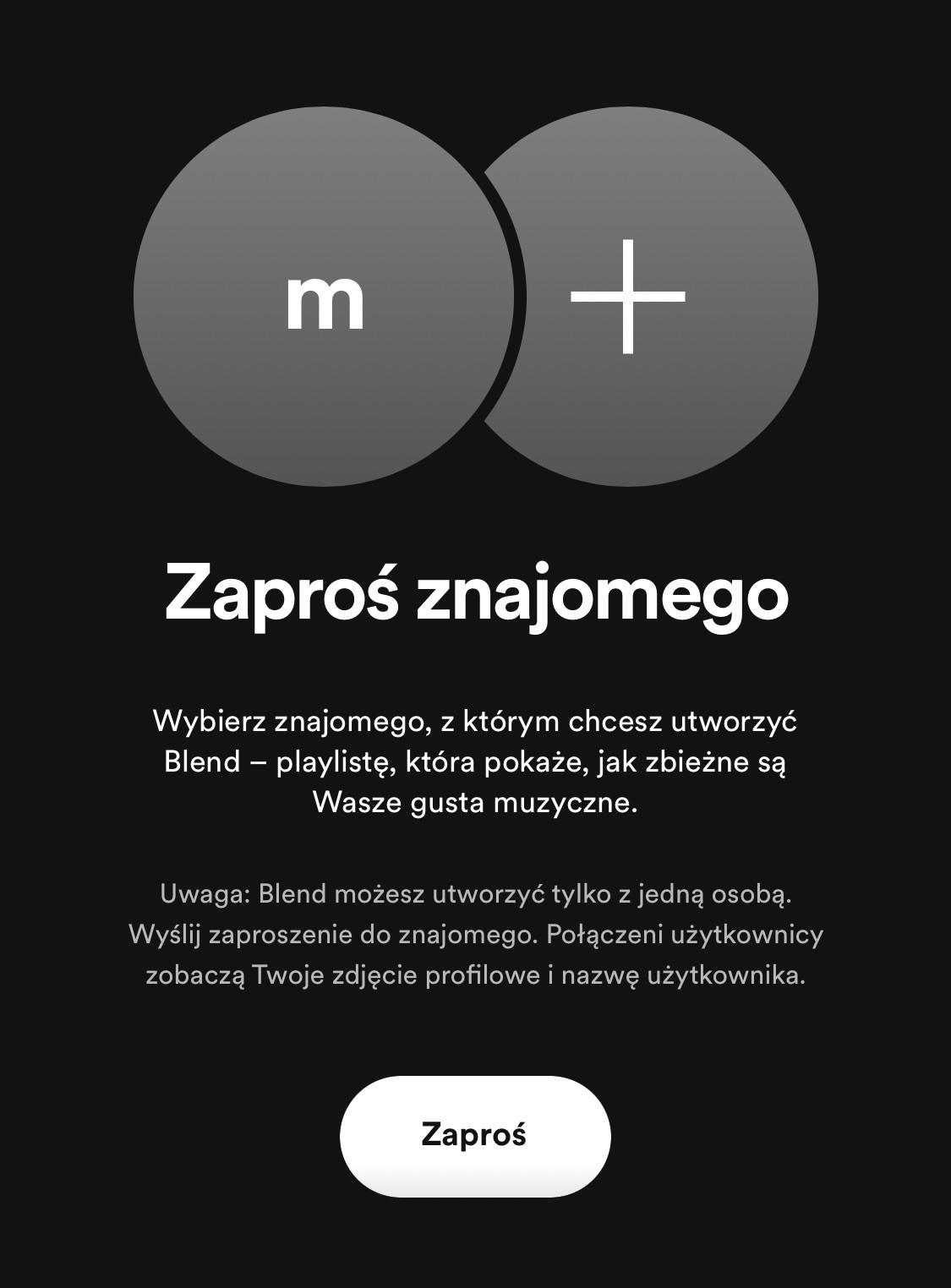 Spotify ma funkcję, której nie ma Apple Music i inne usługi ciekawostki Spotify, jak dziala blend, iOS, co to jest blend, blend  Serwis muzyczny Spotify uruchomił funkcję o nazwie Blend. Nowość po miesiącach testów wreszcie trafiła do aplikacji i dostępna jest dla wszystkich użytkowników. blend spotify