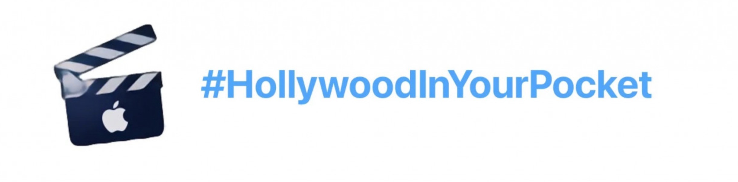 #HollywoodInYourPocket – Apple uruchamia nowy hashtag na Twitterze ciekawostki Twitter, HollywoodInYourPocket, hastag  Twitter ma nowy hashtag Apple #HollywoodInYourPocket z klapsem, który jest wykorzystywany w profesjonalnej kinematografii. Jest to element kampanii iPhone 13 i iPhone 13 Pro. hastag