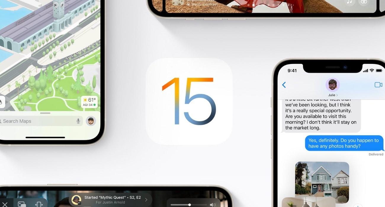 Apple przestało podpisywać iOS 15.0 i iPadOS 15.0 ciekawostki   Nieco ponad tydzień po wydaniu iOS 15.0.1 i iPadOS 15.0.1 Apple przestało podpisywać iOS 15.0 i iPadOS 15.0. iOS15 10