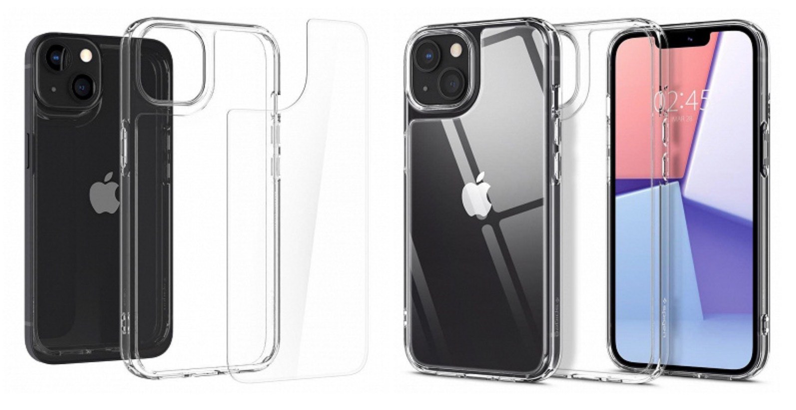 Producenci etui zdradzają wygląd iPhone 13 i 13 Pro na kilka chwil przed oficjalną prezentacją ciekawostki wygląd, iPhone 13 Pro, iPhone 13  Na kilkanaście minut przed oficjalnym startem prezentacji iPhone 13 w sieci pojawiły się grafiki zdradzające wygląd najnowszych smartfonów Apple. ip13 2