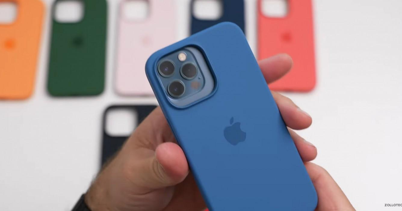 Na YouTube pojawił się pierwszy unboxing wszystkich etui Apple MagSafe na iPhone'a 13 Pro ciekawostki silikonowe etui apple, etui iphone 13 pro, etui iphone 13, etui apple na iphone 13  Autor kanału zollotech na YouTube, Aaron Zollo, udostępnił film z rozpakowywania wszystkich nowych etui Apple do iPhone'a 13 Pro i porównał je z akcesoriami do zeszłorocznych smartfonów. ip13 etui1