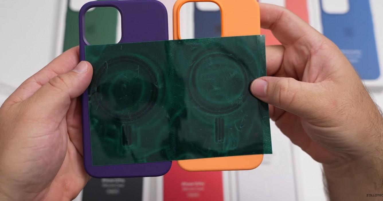 Na YouTube pojawił się pierwszy unboxing wszystkich etui Apple MagSafe na iPhone'a 13 Pro ciekawostki silikonowe etui apple, etui iphone 13 pro, etui iphone 13, etui apple na iphone 13  Autor kanału zollotech na YouTube, Aaron Zollo, udostępnił film z rozpakowywania wszystkich nowych etui Apple do iPhone'a 13 Pro i porównał je z akcesoriami do zeszłorocznych smartfonów. ip13 etui3