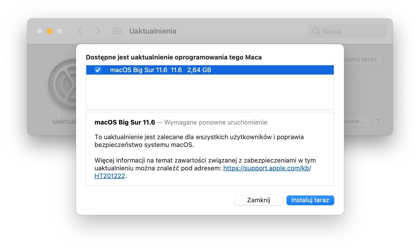 macOS Big Sur 11.6 dostępny - co nowego? ciekawostki zmiany, Update, System, Nowości, macOS Big Sur 11.6, macos 11.6, download, co nowego w macos 11.6, Aktualizacja  iOS 14.8, iPadOS 14.8, watchOS 7.6.2, to nie jedyne systemy wydane w dniu dzisiejszym. Apple udostępniło dziś także kolejną już wersję macOS Big Sur. Tym razem otrzymała ona oznaczenie 11.6. Co zostało zmienione? macos11.6