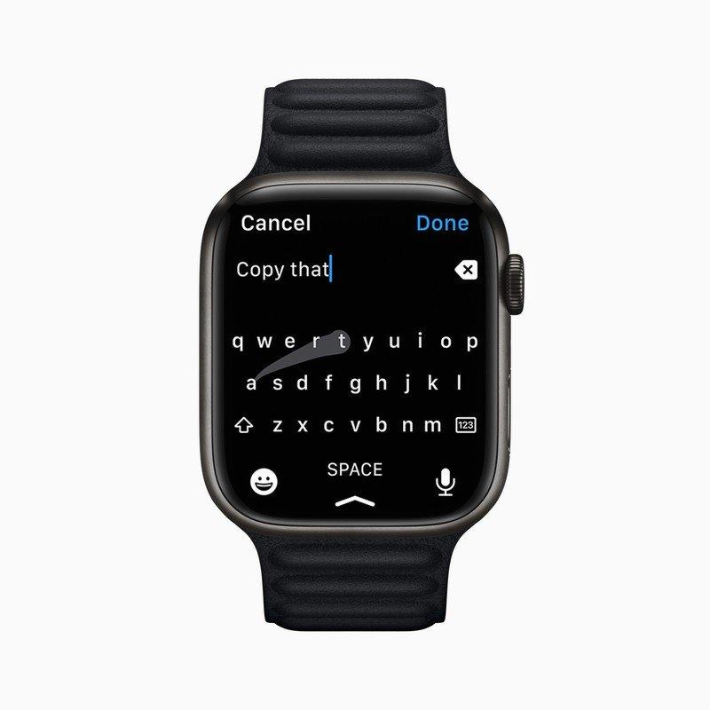 watchOS 8.1 wprowadza zmianę, która nie spodoba się fanom dyktowania tekstu ciekawostki watchOS 8.1, co nowego w watchOS 8.1  W systemie watchOS 8.1 firma Apple wprowadziła niewielką zmianę, która może nie spodobać się tym, którzy wolą dyktować tekst niż pisać za pomocą funkcji Scribble. Scriblle