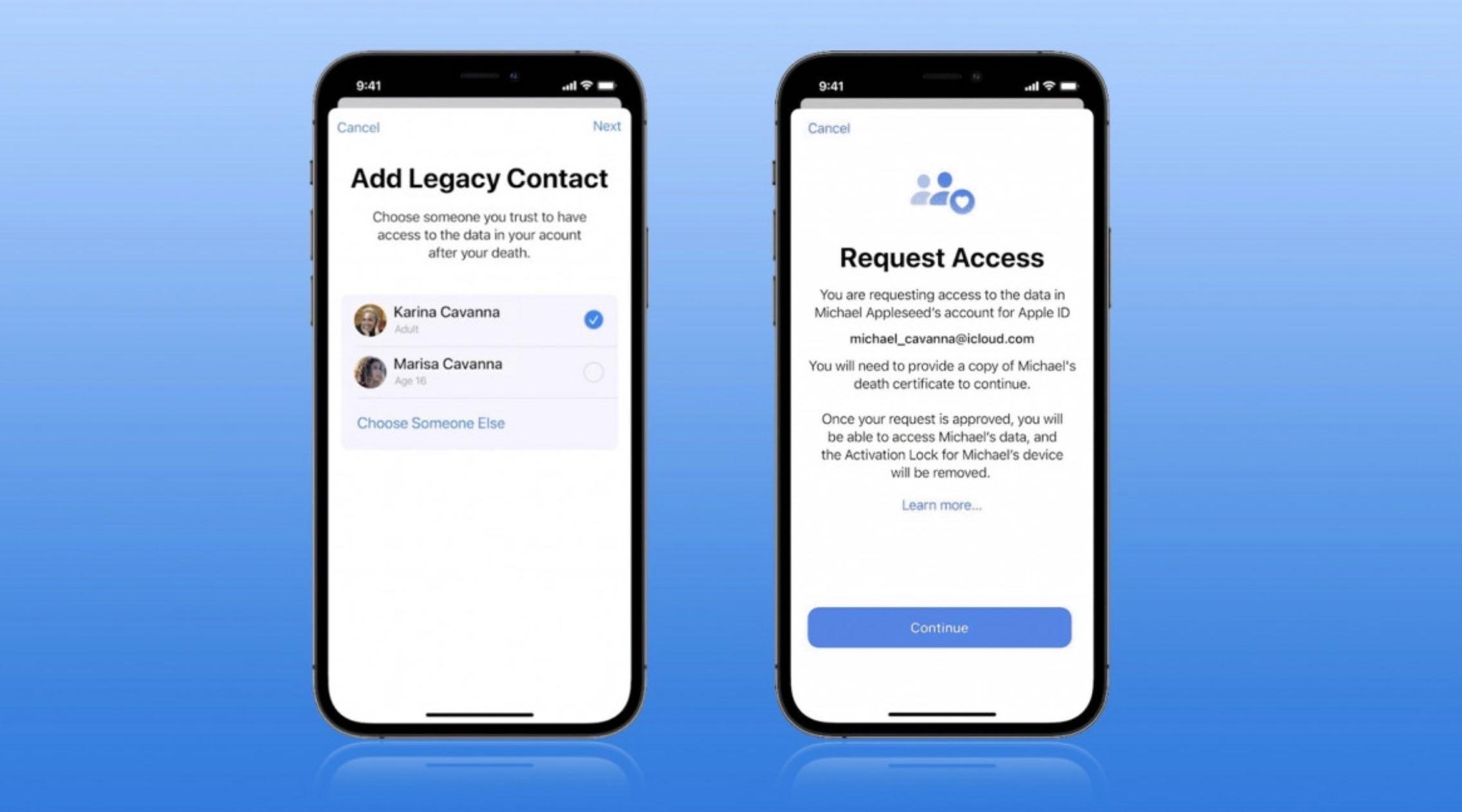 Apple przygotowuje się do uruchomienia funkcji Digital Heritage ciekawostki dziedzictwo cyfrowe, Digital Heritage, co to jest Digital Heritage, Apple  Apple przygotowuje się do rychłego uruchomienia funkcji Digital Heritage, która została ogłoszona na WWDC21. Co to takiego? dziedzictwo