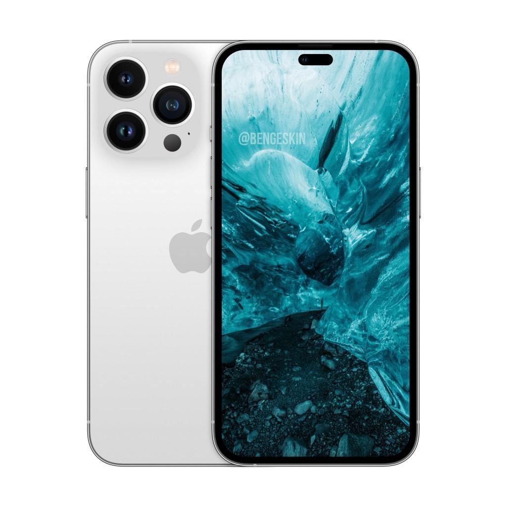 Taki będzie iPhone 14 Pro – render z wiarygodnego źródła ciekawostki wyglad iphone 14 pro, uphone 14 pro mac, iPhone 14 Pro, iphone 14 max, iPhone 14  Projektant Ben Geskin stworzył render iPhone'a 14 Pro, który ma zostać zaprezentowany przez Apple jesienią przyszłego roku.  iPhone14Pro